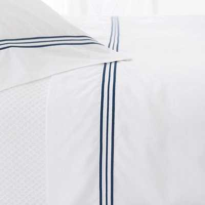 Trio Indigo King Pillowcases (Pair) - Pine Cone Hill