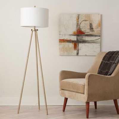 Tripod Floor Lamp - Antique Brass - Project 62 - Target