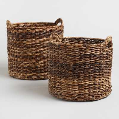 Madras Tote Baskets - Small by World Market Small - World Market/Cost Plus