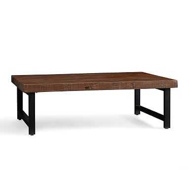 """Griffin Reclaimed Wood Rectangular Coffee Table, 60""""L - Pottery Barn"""