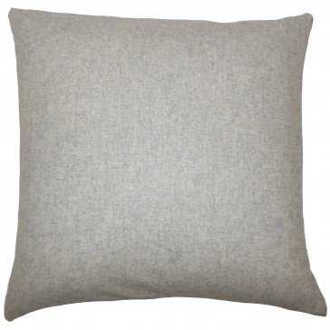 Vella Solid Pillow - Down insert included - Linen & Seam