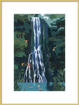 WATERFALL BY JOANNE HO - Artfully Walls
