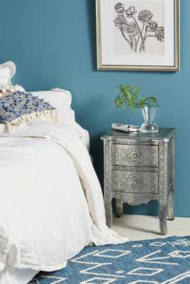 Hand-Embossed Nightstand - Anthropologie