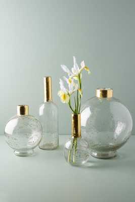Gilded Vase - Medium Bottleneck - Anthropologie