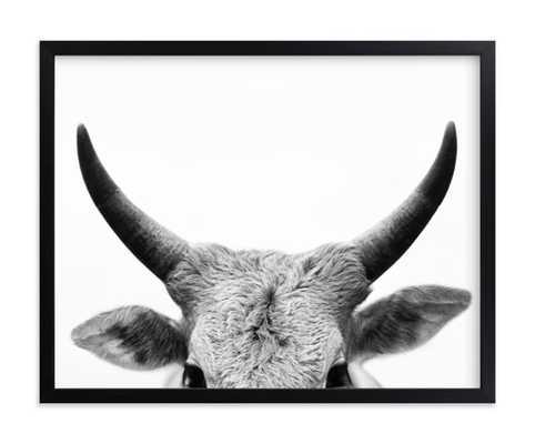 jane gallagher - 18x24 - black wood frame - Minted