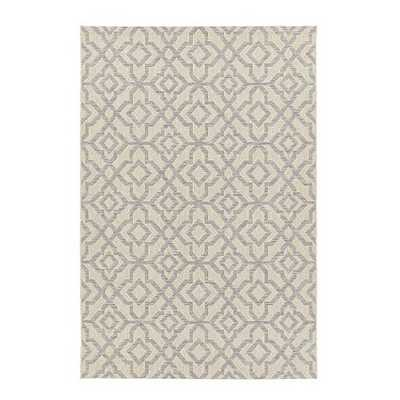 Seaton Indoor/Outdoor Rug-Gray 7'7x10'10 - Ballard Designs