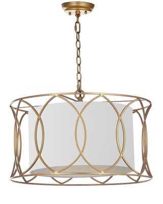 SILAS 21.5-INCH DIA ADJUSTABLE PENDANT LAMP - Arlo Home