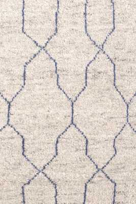 Massena Indigo Hand Knotted Rug - 9' x 12' - Dash and Albert