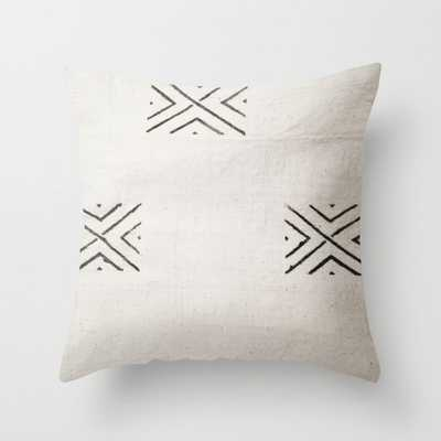 Throw Pillow 2 big X by PbyE cover with insert - Society6