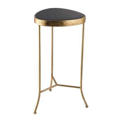 Black Onyx Side Table - Rosen Studio