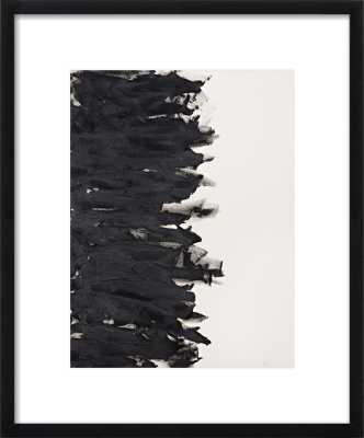 "Divide - 11""x""14 with Frame-Contemporary black wood - Artfully Walls"