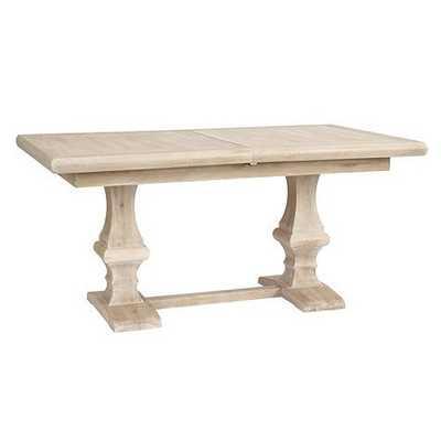Chianni Trestle Table - Belgian Oak - Ballard Designs