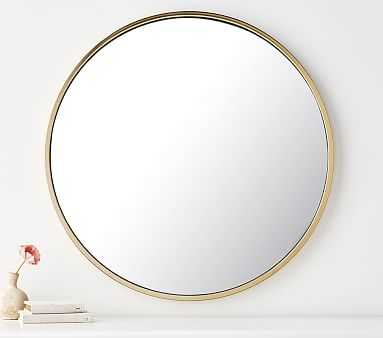 Round Gold Mirror - Pottery Barn Kids