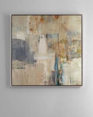 """Rendezvous"" Abstract Giclee on Canvas Wall Art  - Horchow"