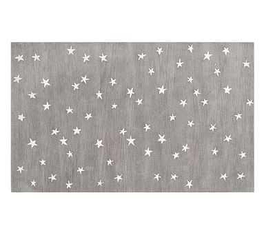 Starry Skies Rug, 5x8', Gray - Pottery Barn Kids