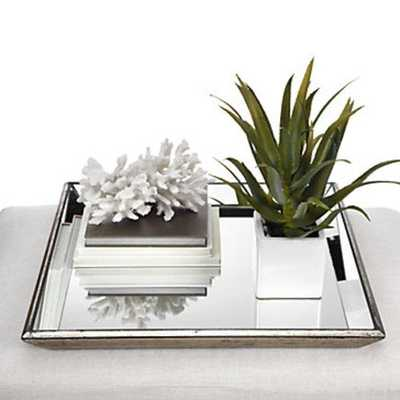 Pascual Mirrored Tray - Z Gallerie