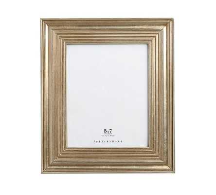 "Eliza Gilt Picture Frame, 5 x 7"" Wide Frame, Champagne Gilt finish - Pottery Barn"