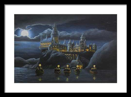 Hogwarts at Night - DESIGNERPRINTS