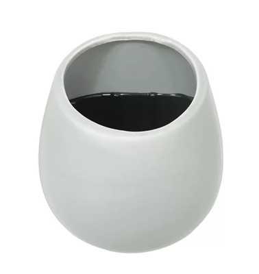 JENNINGS WAY CERAMIC WALL PLANTER - matte white - small - AllModern