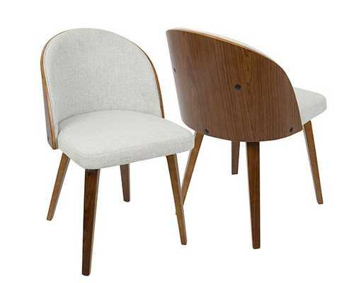 Luna Chair, White - Hollis Modern