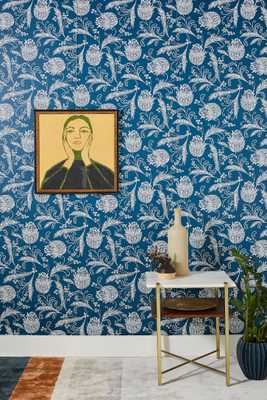Rigby Wallpaper-PASTED ROLL - Anthropologie