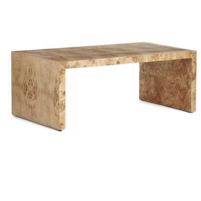 OSLO BURL WOOD VENEER COLLECTION - COFFEE TABLE - Wisteria