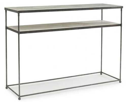 CRYSTAL STONE CONSOLE TABLE - Curated Kravet