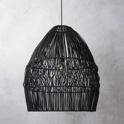 archer black pendant light - CB2