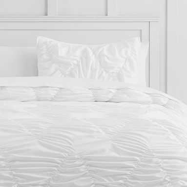 Whimsical Waves Comforter, Full/Queen, White - Pottery Barn Teen