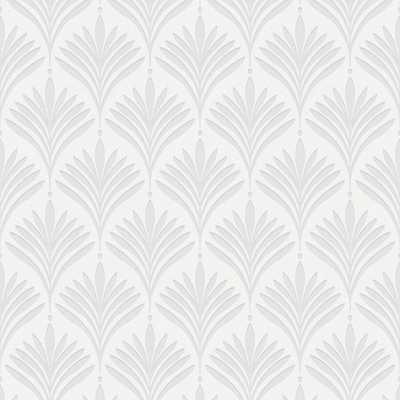 Bonnie Geo White Removable Wallpaper - Home Depot