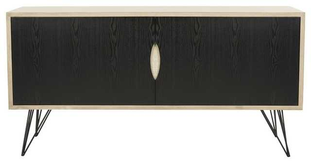 JERALYN RETRO MID CENTURY WOOD SIDEBOARD - Arlo Home