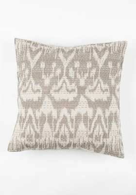 Ikat Pillow Cover  - Tan - 20x30 - Bohem