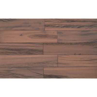 3D Holey Wood 50 in. 1/4 in. x 4 in. x 24 in. Reclaimed Wood Decorative Wall Planks in Brown Color (10 sq. ft. / Case) - Home Depot