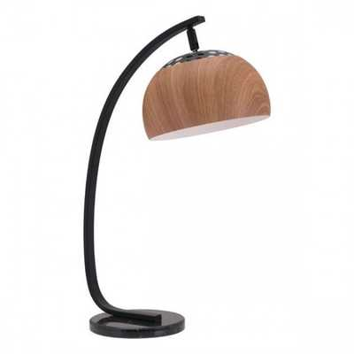Brentwood Table Lamp Brown - Zuri Studios