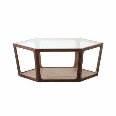 Verona Walnut Coffee Table - Abbyson Living