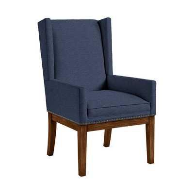 Marlene Dining Chair with Brass Nailheads - Ballard Designs
