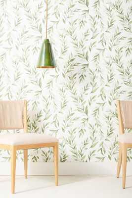 Olive Branch Wallpaper - Anthropologie