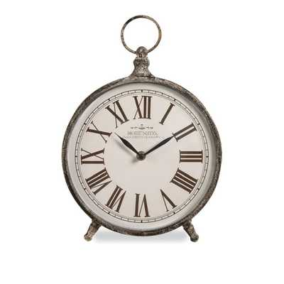 Norida Desk Clock - Mercer Collection