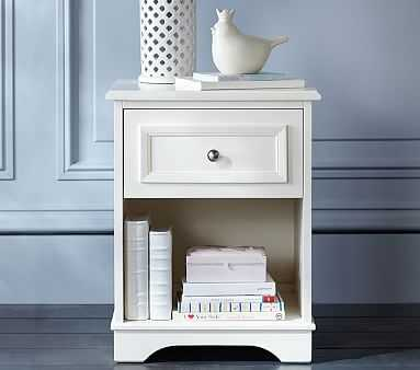Fillmore Nightstand, Simply White - Pottery Barn Kids