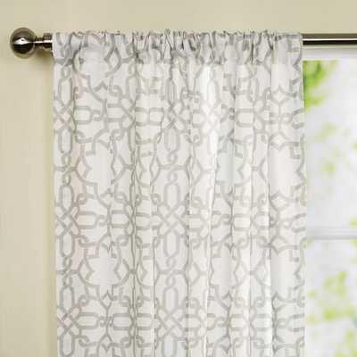 Bonair Single Curtain Panel - Wayfair