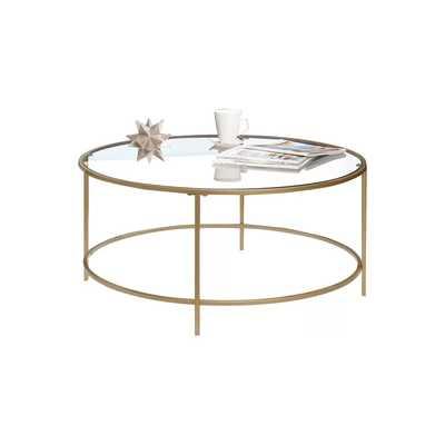 Mercury Row Casanova Coffee Table - Gold - Wayfair