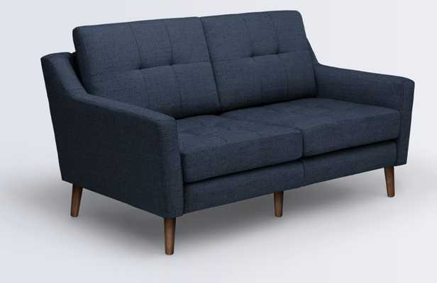 Love Seat in Navy Blue - Burrow