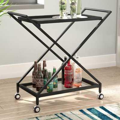Burke Bar Cart - AllModern