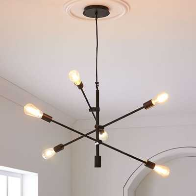 Mobile Chandelier - Large- Antique Bronze - West Elm