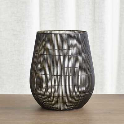 Kent Wire Large Hurricane Candle Holder - Crate and Barrel