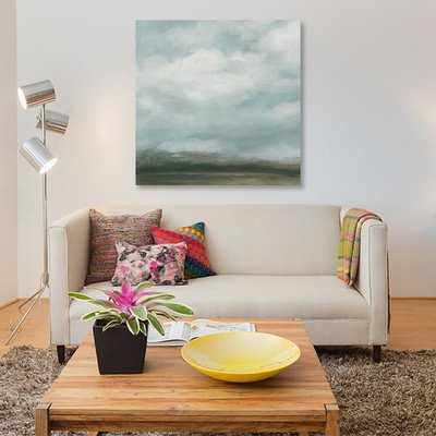 'Cloud Mist I' Painting Print on Canvas - Wayfair