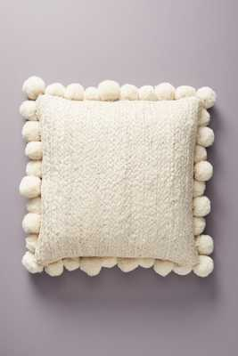 Pommed Jute Pillow - Anthropologie