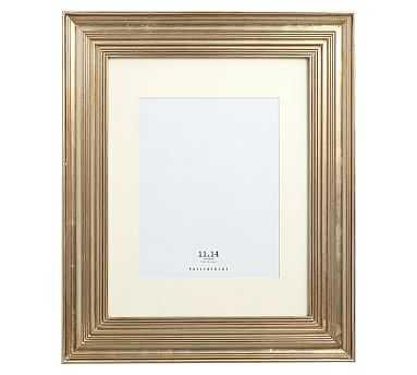 "Eliza Gilt Picture Frame, 11 x 14"" Wide Frame, Champagne Gilt finish - Pottery Barn"