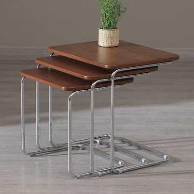 Leonhardt 3 Piece Nesting Tables - Wayfair