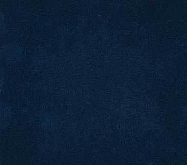 Fabric By The Yard: Performance Everyday Velvet Ink Blue(A) - Pottery Barn Kids